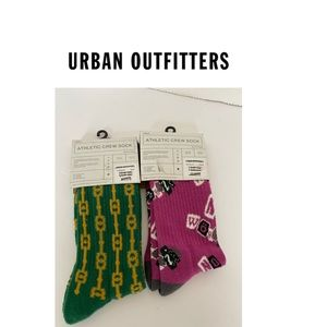 NWT Urban Outfitters Set of 2 pair Athletic crew